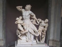 В Риме была найдена мраморная скульптурная группа «Лаокоон и его сыновья»