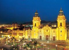 Основание Лимы - будущей столицы Перу