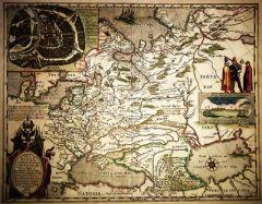 Первый печатный вариант карты Руси