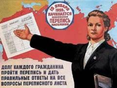 Проведена первая полная перепись населения Российской империи