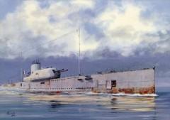 В Карибском море затонула французская подводная лодка «Сюркуф»