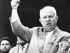 На закрытом заседании XX съезда Коммунистической партии Н.С. Хрущев выступил с обвинениями против Сталина