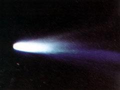 Автоматическая межпланетная станция «Вега-1» выполнила программу исследований кометы Галлея