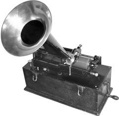 Первая в Европе публичная демонстрация фонографа Томаса Эдисона