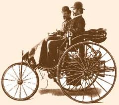Карл Бенц получил патент на свой первый автомобиль