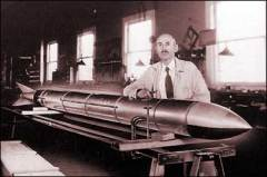 Роберт Годдард первым в мире запустил ракету на жидком топливе