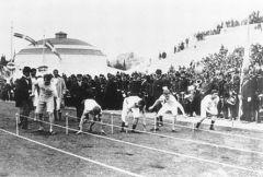 В Афинах король Греции объявил об открытии Игр I Олимпиады нового времени