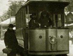 В Москве пустили первый электрический трамвай