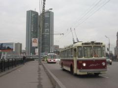 В Санкт-Петербурге проведены испытания первого в России троллейбуса