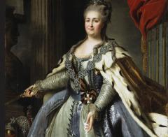 Российская императрица Екатерина II учредила «Военный орден Святого великомученика и Победоносца Георгия»