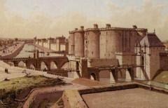 Началось строительство крепости Бастилия