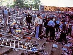 Трагедия в Брюсселе на стадионе «Эйзель» - погибли 39 человек