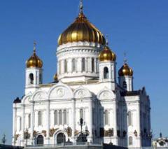 В Москве был освящен храм Христа Спасителя