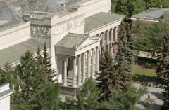 В Москве состоялось торжественное открытие Музея изящных искусств, переименованного со временем в Государственный музей изобразительных искусств имени А.С. Пушкина