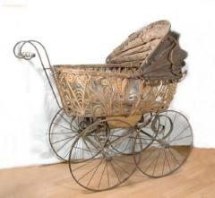 Американец Уильям Ричардсон запатентовал детскую коляску