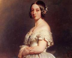 На британский престол взошла королева Виктория