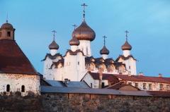 Царские стрельцы начали осаду Соловецкого монастыря