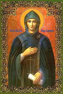 Обретение мощей и второе прославление благоверной великой княгини Анны Кашинской