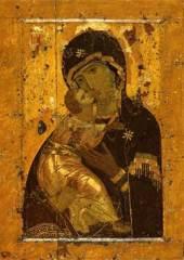 Празднование Владимирской иконы Божией Матери в благодарение за избавление Москвы от нашествия хана Ахмата в 1480 году