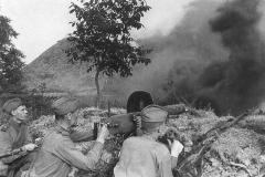 В ходе Первой мировой войны впервые было применено химическое оружие - отравляющий газ иприт