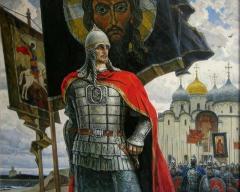 Русские войска разбили шведов в Невской битве