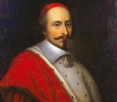 Джулио Мазарини получил от папы римского Урбана VIII кардинальскую мантию