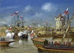 Русскими войсками была взята турецкая крепость Азов