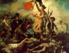 Во Франции началась Июльская буржуазная революция