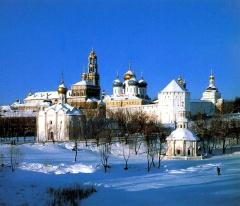Преподобный Сергий Радонежский основал монастырь, впоследствии ставший Троице-Сергиевой лаврой
