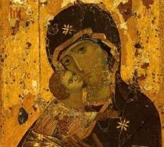 В Москву из Владимира перенесена Владимирская икона Пресвятой Богородицы