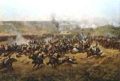 В Москве открылась панорама Франца Рубо «Бородинская битва»