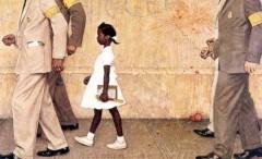 В городе Литтл-Рок части армии США рассеяли многотысячную толпу расистски настроенных горожан, окруживших среднюю школу и не пускавших туда темнокожих учеников