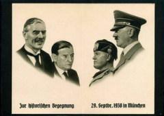 Составлено Мюнхенское соглашение 1938 года, которое также известно как «Мюнхенский сговор»