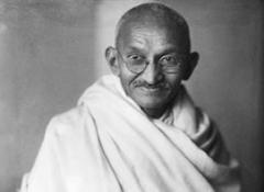 Праздник в честь дня рождения М. Ганди - Ганди Джаянти