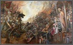 Взятие Казани войсками Ивана Грозного, в результате чего Казанское ханство было присоединено к России