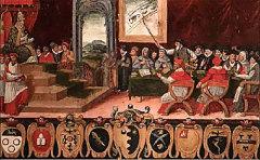 По указу папы римского Григория XIII произошел переход на новый календарь, который был назван по имени папы григорианским
