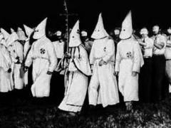 В США создана тайная расистская террористическая организация Ку-клукс-клан