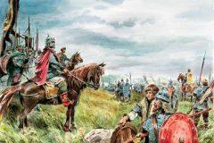 Началось «стояние на Угре» между войсками русского князя Ивана III и хана Большой Орды Ахмата, закончившееся окончательным освобождением России от монголо-татарского ига