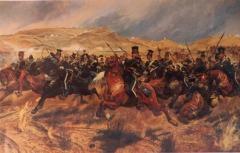 Произошло Балаклавское сражение - крупнейшее сражение Крымской войны (1853-1856) между союзными силами Великобритании, Франции и Турции с одной стороны, и Россией - с другой