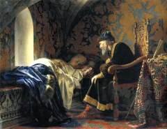 Царь Иван IV Грозный в Троицком соборе Александровской слободы обвенчался с Марфой Васильевной Собакиной