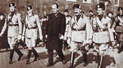Итальянские фашисты начали марш на Рим