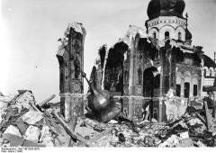 В Киево-Печерской лавре был взорван Успенский собор