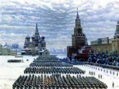 Состоялся военный парад советских войск на Красной площади в Москве, приравненный к важнейшей боевой операции
