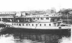 Запатентован первый пароход