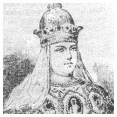 Царь Иван Грозный венчался первым браком