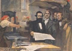 Карл Маркс и Фридрих Энгельс опубликовали «Манифест коммунистической партии»