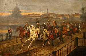 Наполеон бежал с острова Эльба