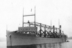В водах Бермудского треугольника исчезло военно-морское судно «Циклоп»