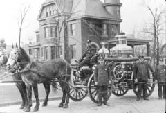 Опробована первая паровая пожарная машина