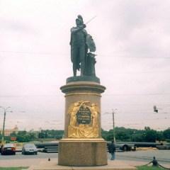 На Марсовом поле в Санкт-Петербурге состоялось торжественное открытие памятника великому полководцу А.В.Суворову